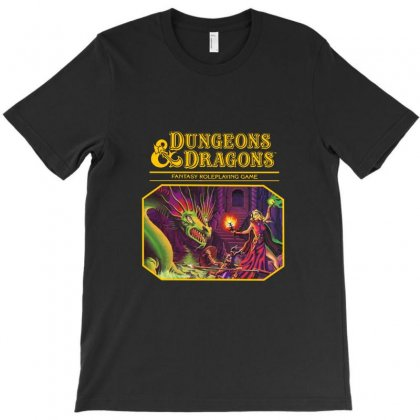 Dungeons & Dragons   Dungeons & Amp T-shirt Designed By Agus Loli