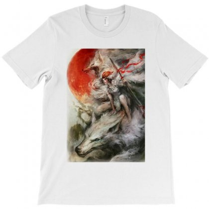 Wolf Anime T-shirt Designed By Agus Loli