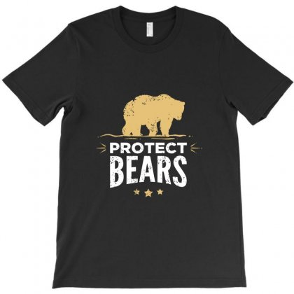 Protect Fat Bears T-shirt Designed By Agus Loli