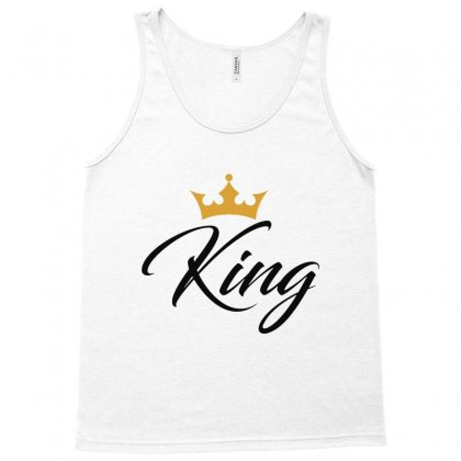 King Royalty   Black Tank Top Designed By Ainazee Tees