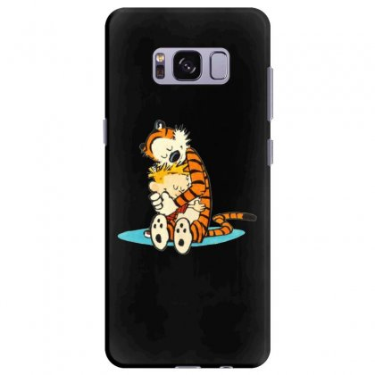 Calvin And Hobbes Hug Samsung Galaxy S8 Plus Case Designed By Rakuzan