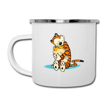 Calvin And Hobbes Hug Camper Cup Designed By Rakuzan