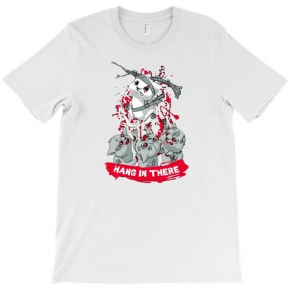 New Hang In There T-shirt Designed By Ronart