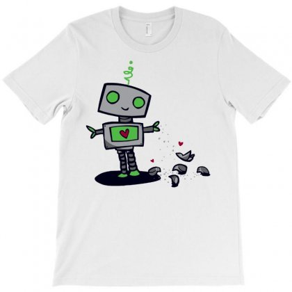 New Robot Law #1 T-shirt Designed By Ronart