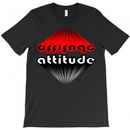 Attitude T-shirt Designed By Nowlam
