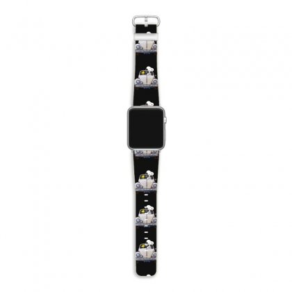 Snoopy Is Driving A Car Apple Watch Band