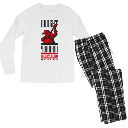 New Dwight Yoakam Country Men's Long Sleeve Pajama Set Designed By Artwoman