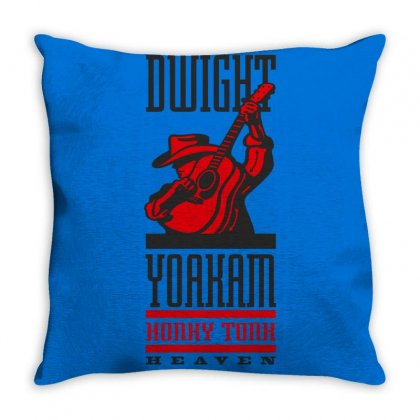 New Dwight Yoakam Country Throw Pillow Designed By Artwoman
