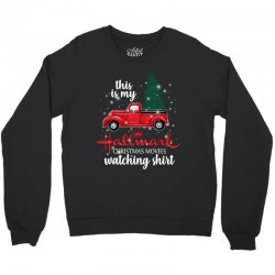 this is my hallmark christmas movies watching shirt for dark Crewneck Sweatshirt | Artistshot