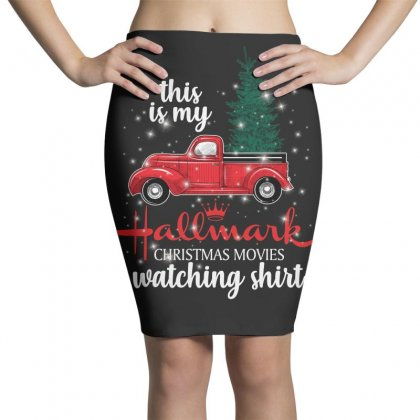 This Is My Hallmark Christmas Movies Watching Shirt For Dark Pencil Skirts Designed By Sengul