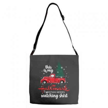 This Is My Hallmark Christmas Movies Watching Shirt For Dark Adjustable Strap Totes Designed By Sengul