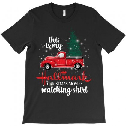 This Is My Hallmark Christmas Movies Watching Shirt For Dark T-shirt Designed By Sengul