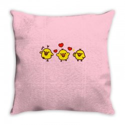 rilakkuma kiiroitori san Throw Pillow | Artistshot