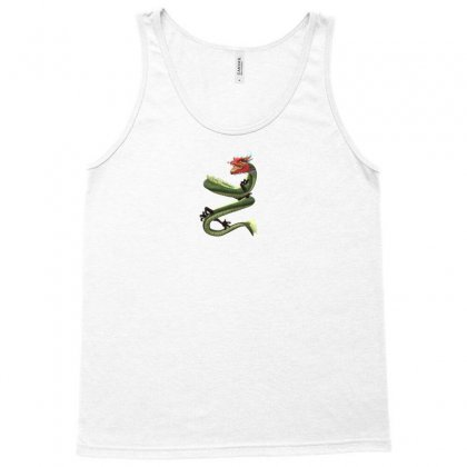 Chinese Dragon Tank Top Designed By Demiandan