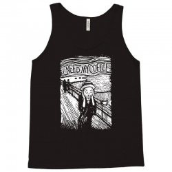 scream for coffee Tank Top | Artistshot