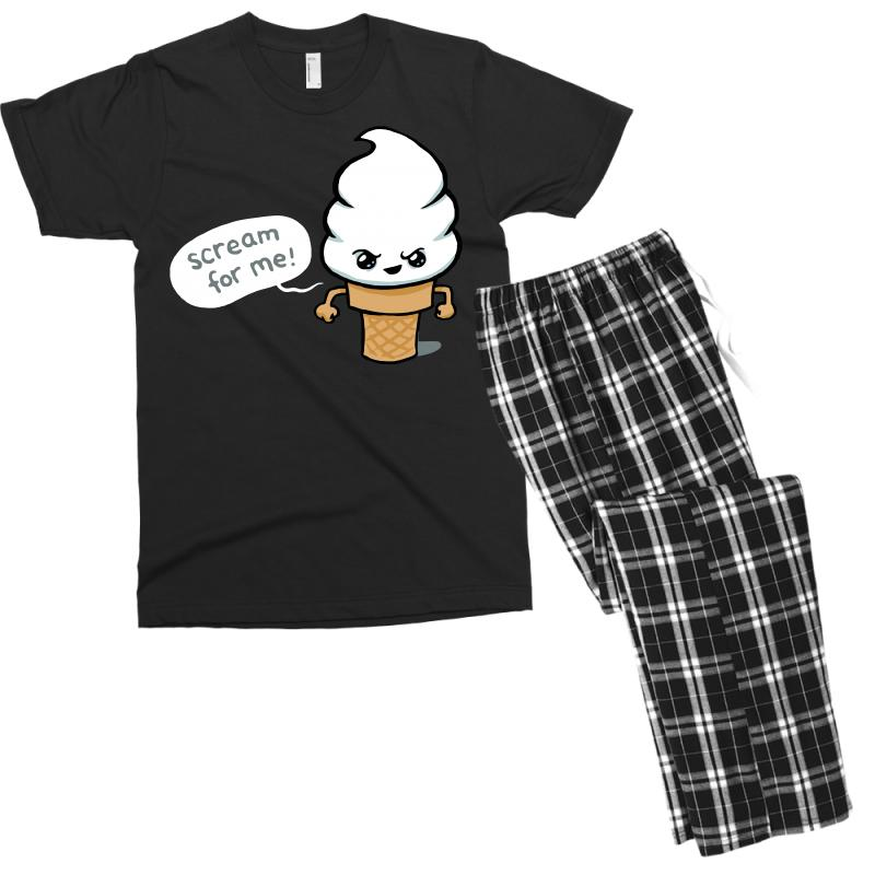 Scream For Me Men's T-shirt Pajama Set | Artistshot