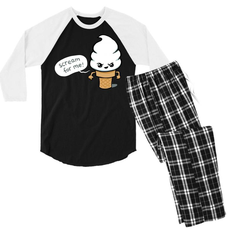 Scream For Me Men's 3/4 Sleeve Pajama Set | Artistshot