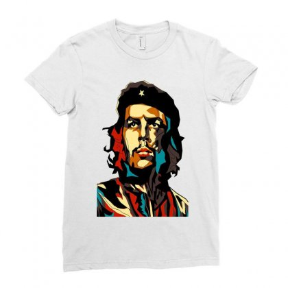 Che Guevara A Revolutionary Life Ladies Fitted T-shirt Designed By Ninakuy