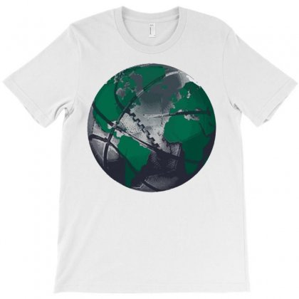 Sports Are My World T-shirt Designed By Royart