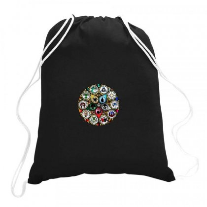 Magic The Gathering Drawstring Bags Designed By Creative Tees