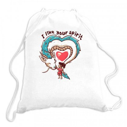 Anime Girl Drawstring Bags Designed By Disgus_thing
