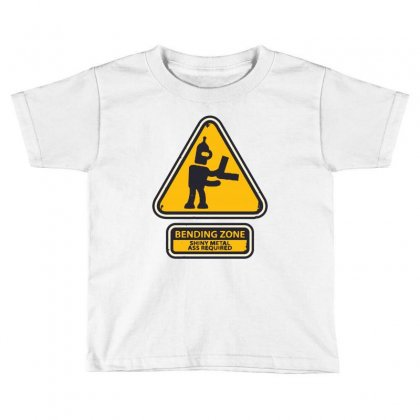 Bending Zone Toddler T-shirt Designed By Creative Tees