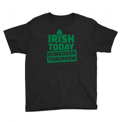 Hungover Tomorrow Youth Tee Designed By Erryshop
