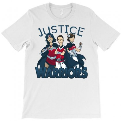 Supreme Justice Warriors T-shirt Designed By Royart