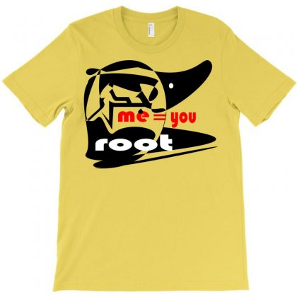 1 Root T-shirt Designed By Nowlam