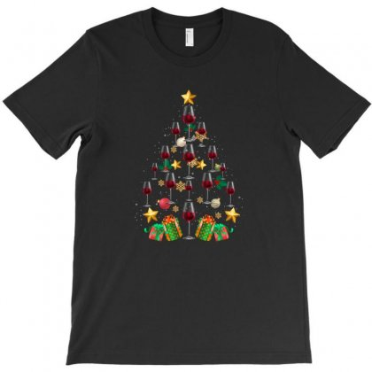 Christmas Tree T-shirt Designed By Hasret
