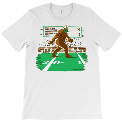 Teen Sasquatch T-shirt Designed By Royart