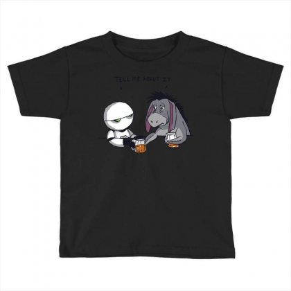 Tell Me About It Toddler T-shirt Designed By Royart