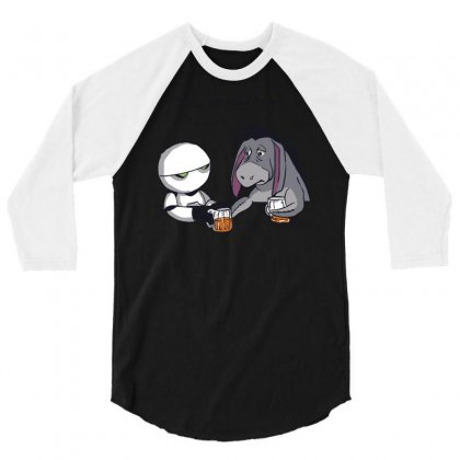 Tell Me About It 3/4 Sleeve Shirt Designed By Royart