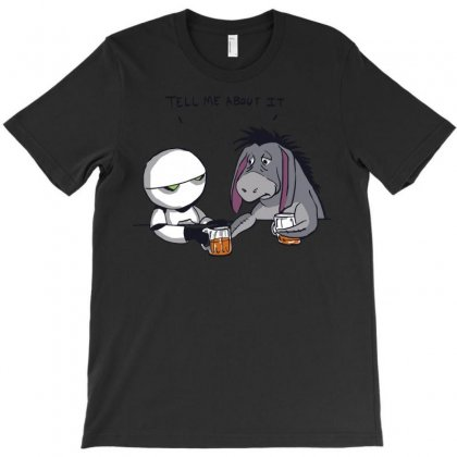 Tell Me About It T-shirt Designed By Royart