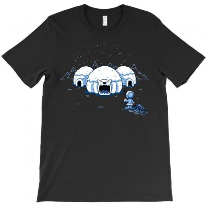The Hungry Igloo T-shirt Designed By Royart