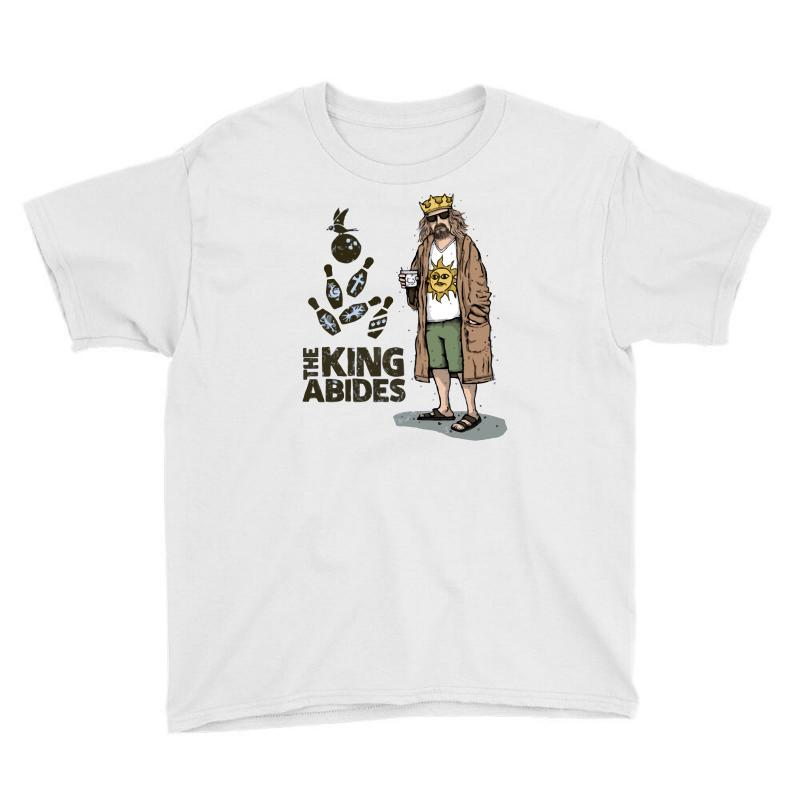 The King Abides Youth Tee | Artistshot