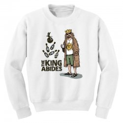 the king abides Youth Sweatshirt | Artistshot