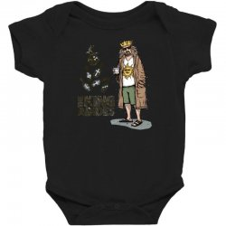 the king abides Baby Bodysuit | Artistshot