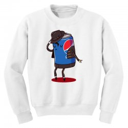 the king of pop Youth Sweatshirt | Artistshot