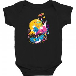 the land of lost socks Baby Bodysuit | Artistshot