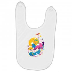 the land of lost socks Baby Bibs | Artistshot