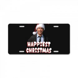 and we're conna have the hap hap happiest christmas License Plate | Artistshot