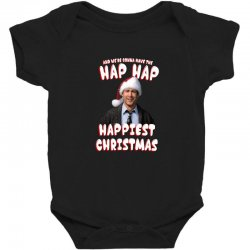 and we're conna have the hap hap happiest christmas Baby Bodysuit | Artistshot