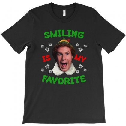 Smiling Is My Favorite T-shirt Designed By Hasret