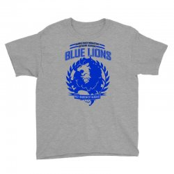 blue lions class graphic Youth Tee | Artistshot