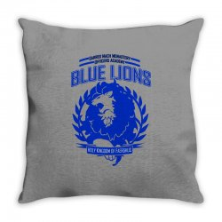 blue lions class graphic Throw Pillow | Artistshot