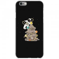 astronaut decorates the christmas tree iPhone 6/6s Case | Artistshot