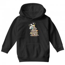 astronaut decorates the christmas tree Youth Hoodie | Artistshot
