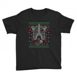 skeleton baby christmas ugly Youth Tee | Artistshot