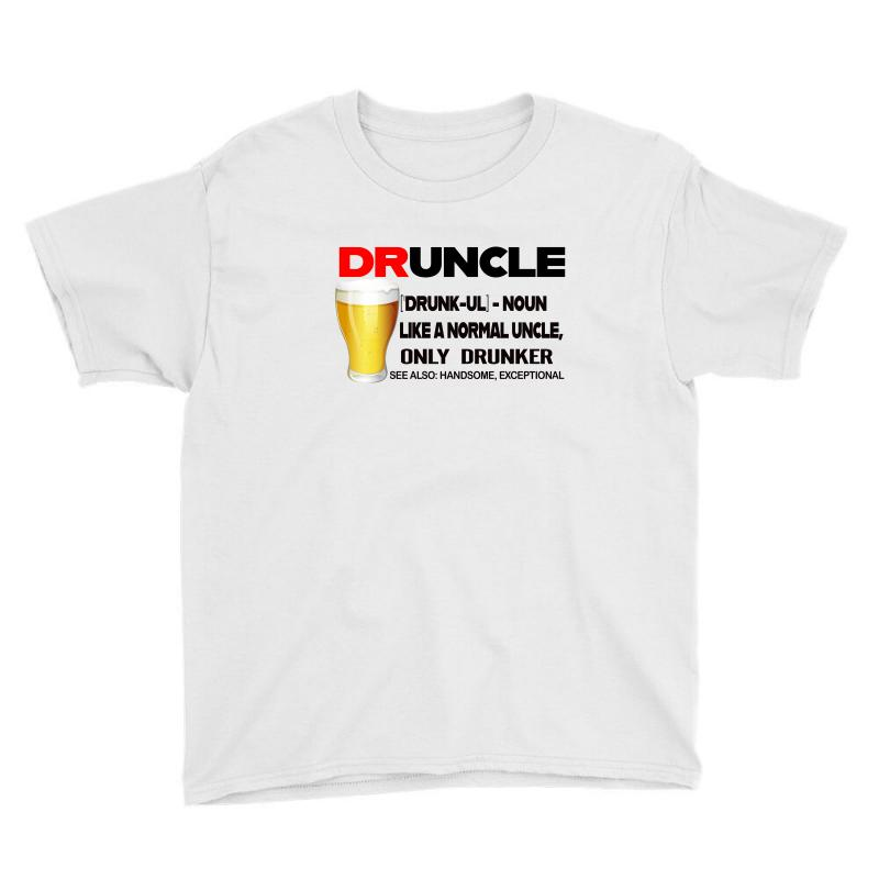 Druncle Beer Funny Gift Youth Tee | Artistshot